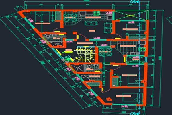 اتوکد طراحی برج شماره هفت به صورت رایگان - فروشگاه ایرانیان شهرساز