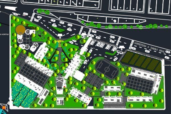 اتوکد طراحی مدرسه شماره شش رایگان - فروشگاه ایرانیان شهرساز
