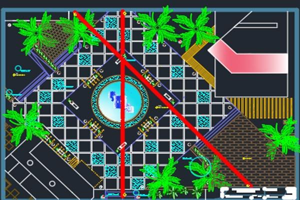 اتوکد طراحی پارک شهری شماره پنج رایگان - فروشگاه ایرانیان شهرساز