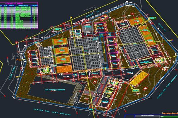 اتوکد طراحی دانشکده شماره نه به صورت رایگان - فروشگاه ایرانیان شهرساز