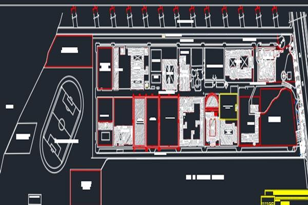 اتوکد طراحی دانشگاه شماره شش به صورت رایگان - فروشگاه ایرانیان شهرساز