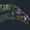 اتوکد طراحی فرودگاه شماره سه به صورت رایگان - فروشگاه ایرانیان شهرساز
