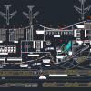 اتوکد طراحی فرودگاه شماره هفت به صورت رایگان - فروشگاه ایرانیان شهرساز