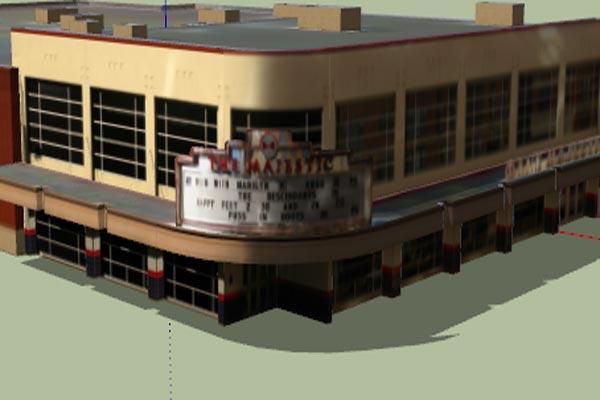 دانلود فایل اسکچاپ سینما شماره دو - فروشگاه ایرانیان شهرساز به صورت رایگان