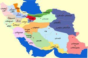 شیپ فایل تقسیمات کشوری سال 1351تا 1390 - فروشگاه ایرانیان شهرساز